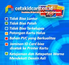 Kualitas Cetak ID Card