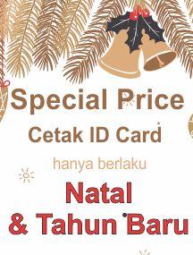 Diskon Cetak ID Card