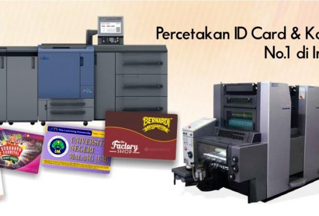 cetak id card no 1 indonesia