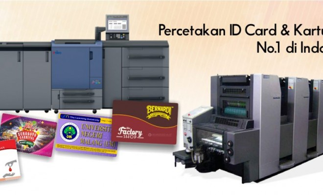 cetak id card no 1 indonesia